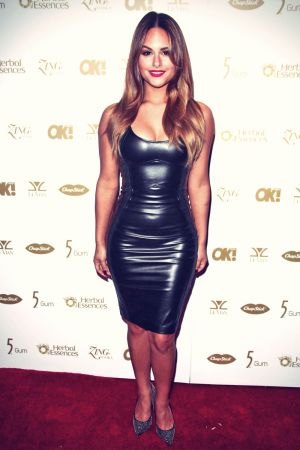 Pia Toscano attends Pre-Grammy Party