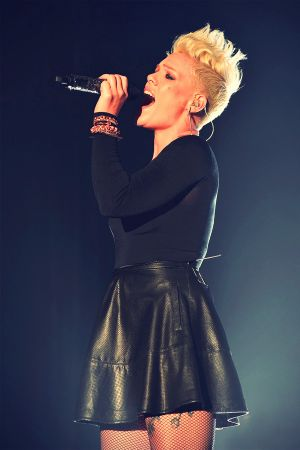 Pink takes at the St. John's Health Center's Power Of Pink Fundraiser