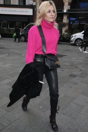 Pixie Lott at Global Radio Studios