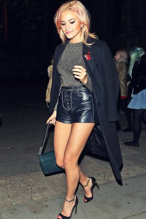 Pixie Lott attends British Heart Foundation's Tunnel of Love fundraiser after party