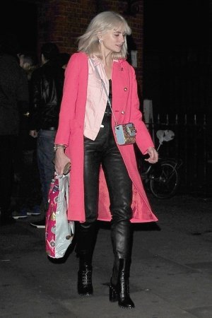 Pixie Lott leaving Mahiki in London