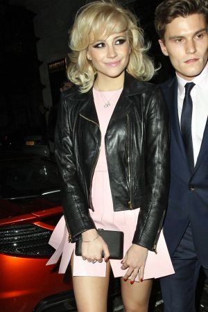 Pixie Lott leaving Novikov