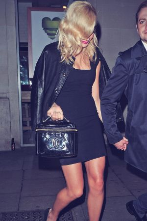 Pixie Lott leaving Rose Club in London