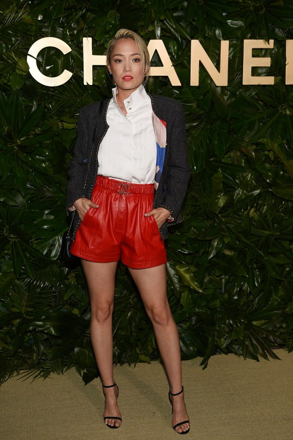 Pom Klementieff attends Launch of Gabrielle Chanel Essence