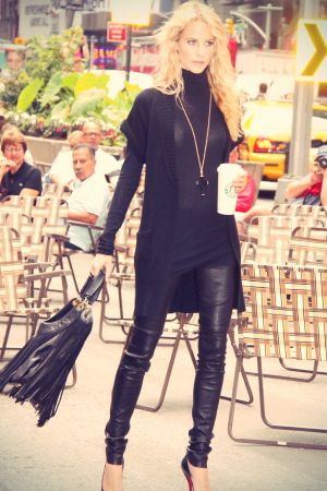 Poppy Delevigne out and about