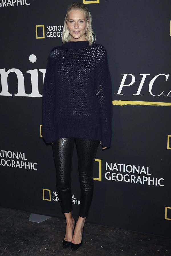 Poppy Delevingne attends Genius Picasso TV series photocall