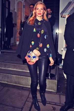 Poppy Delevingne attends the Stella McCartney show