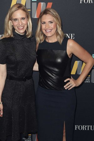 Poppy Harlow speaks onstage at the Fortune Most Powerful Women Summit