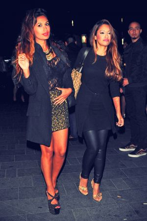 Preeya Kalidas arrives at The Penthouse London nightclub