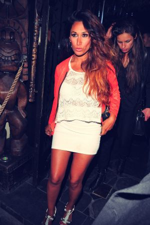 Preeya Kalidas night out at Mahiki club in Mayfair