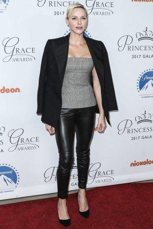 Princess Charlene of Monaco attends Princess Grace Awards Gala