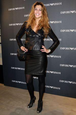 Priscilla de Laforcade at Emporio Armani new boutique