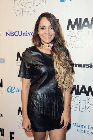 Priscilla Eslo attends Miami Fashion Week