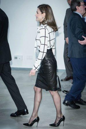Queen Letizia of Spain attends the 'El Valor Economico del Espanol' conference