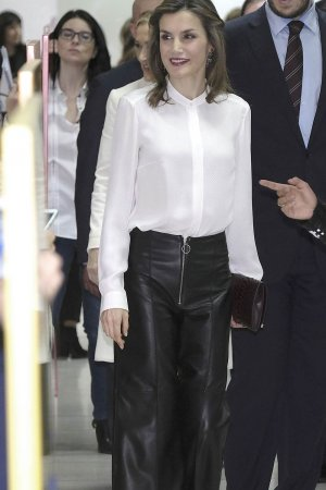 Queen Letizia of Spain visits Zeta Group on its 40th anniversary