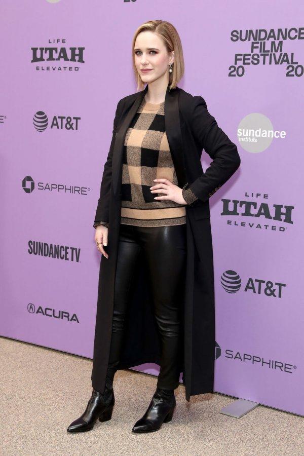 Rachel Brosnahan attends Ironbark premiere