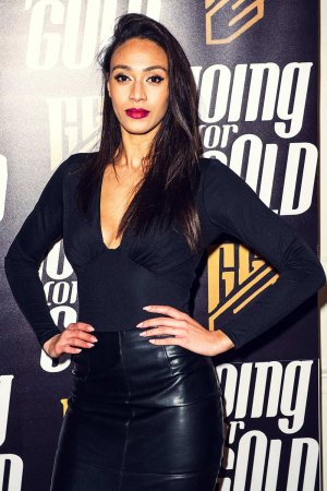 Rachel Christie attends Going For Gold Magazine Launch Party