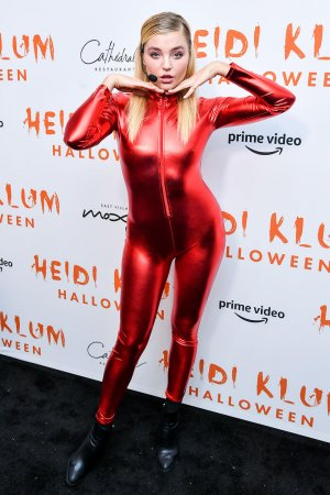 Rachel Hilbert attends Heidi Klum's 20th Annual Halloween Party