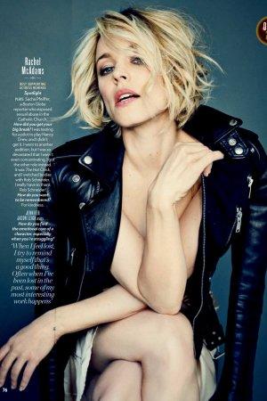 Rachel McAdams in People Magazine