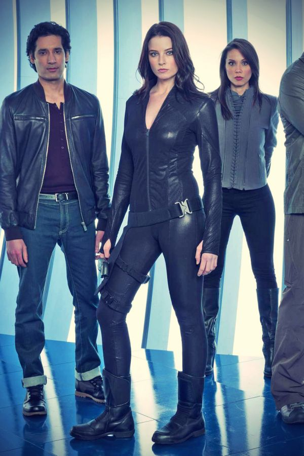 rachel nichols continuum season 2 promo pics leather