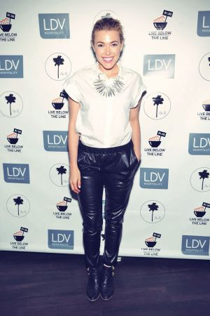 Rachel Platten attends the Global Poverty Project and LDV Hospitality special event