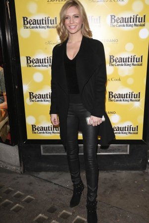 Rachel Riley attends Carole King Musical