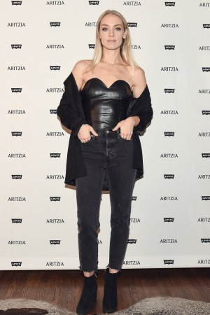 Rachel Skarsten & Adelaide Kane attend Levi's by Aritzia Collection launch