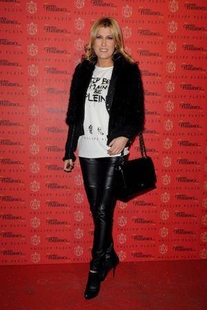 Raffaella Zardo attends the Philipp Plein fashion show as part of Milan Fashion Week Menswear