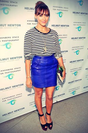 Rashida Jones attends Helmut Newton Opening Night exhibit