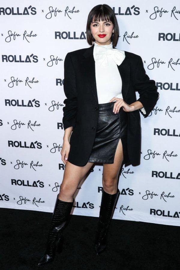 Rebecca Black attends Rolla's x Sofia Richie collection launch event
