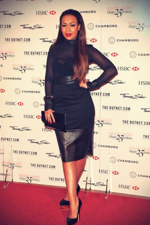 Rebecca Ferguson attends Marie Claire 25th birthday celebration