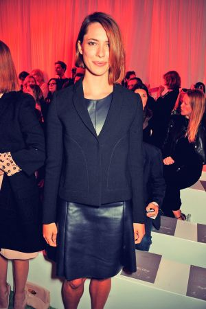 Rebecca Hall attends Mulberry fashion show