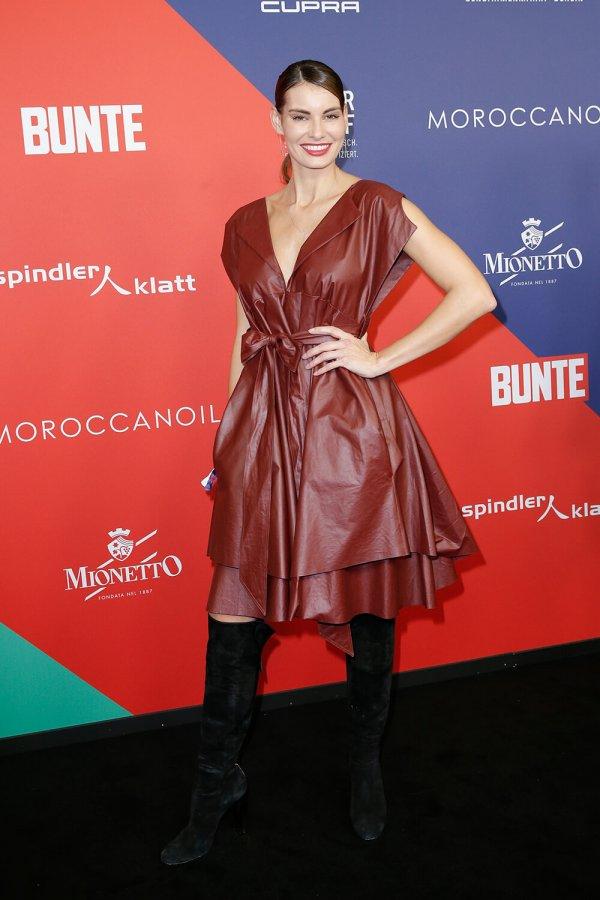 Rebecca Kunikowski at Verleihung der Bunte New Faces Awards