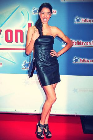 Rebecca Mir attends Gala Premiere Holday on Ice