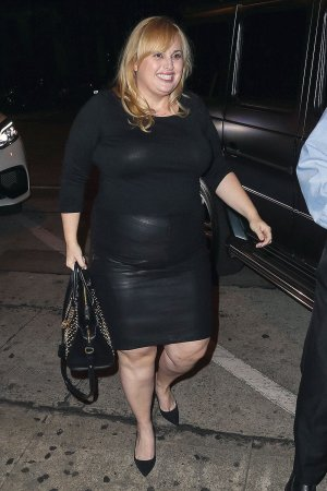 Rebel Wilson is seen in LA