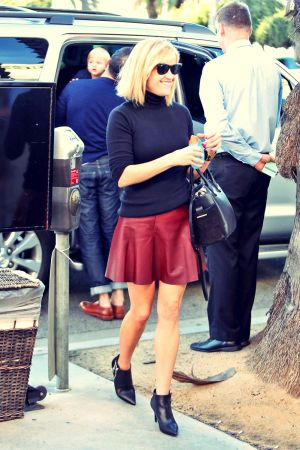 Reese Witherspoon leaves lunch at Ivy