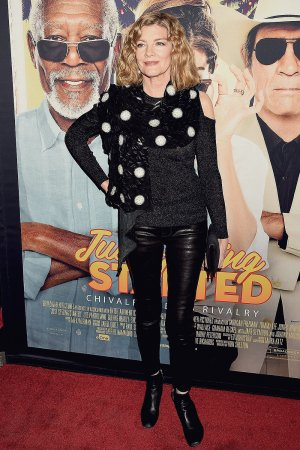 Rene Russo attends Just Getting Started film premiere