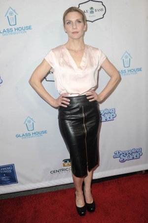Rhea Seehorn arrives for the Premiere Of Glass House Distributions' 'Dropping The Soap'