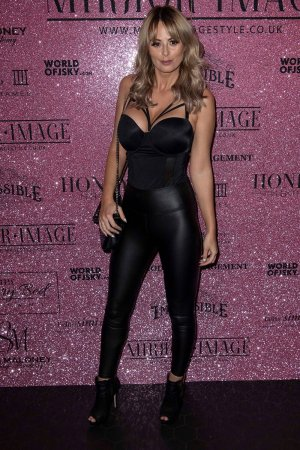 Rhian Sugden attends Mirror Image Fashion Event