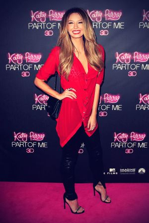 Ricki Lee Coulter arrives at the Katy Perry Part Of Me