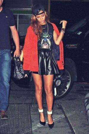 Rihanna heads to Greenhouse Club