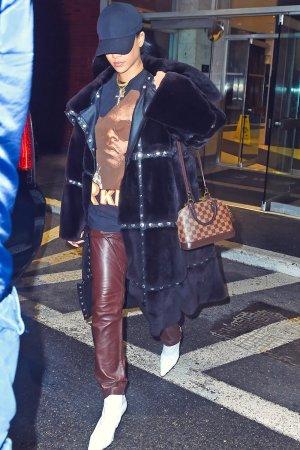Rihanna leaving dentist's office in New York City