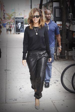 Rihanna leaving her Hotel NYC