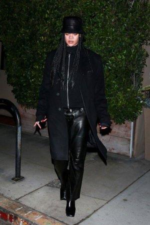 Rihanna out in Santa Monica