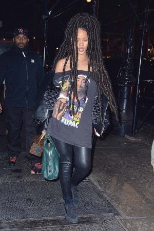 Rihanna seen out and about in SoHo