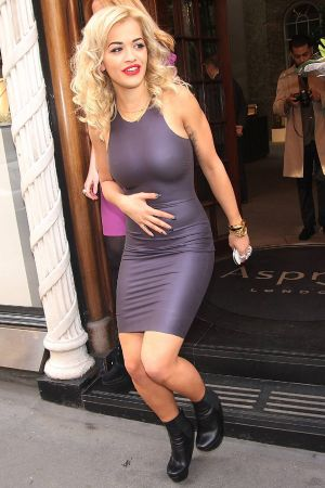 Rita Ora album launch at Asprey