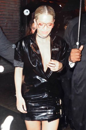 Rita Ora arriving for a 2016 Met Gala after party