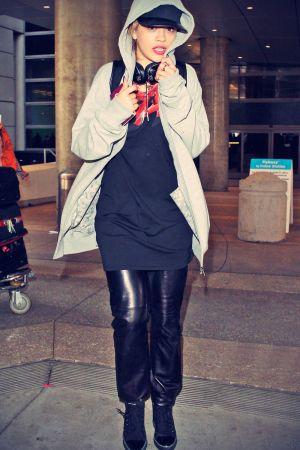 Rita Ora at LAX Airport