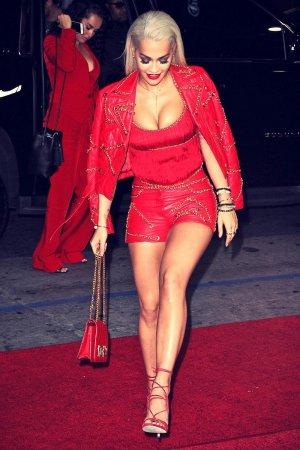 Rita Ora attends Jeremy Scott The People's Designer premiere