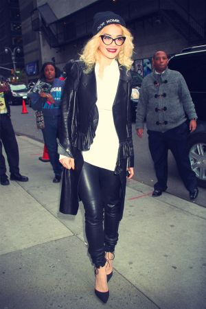 Rita Ora Late Show with David Letterman